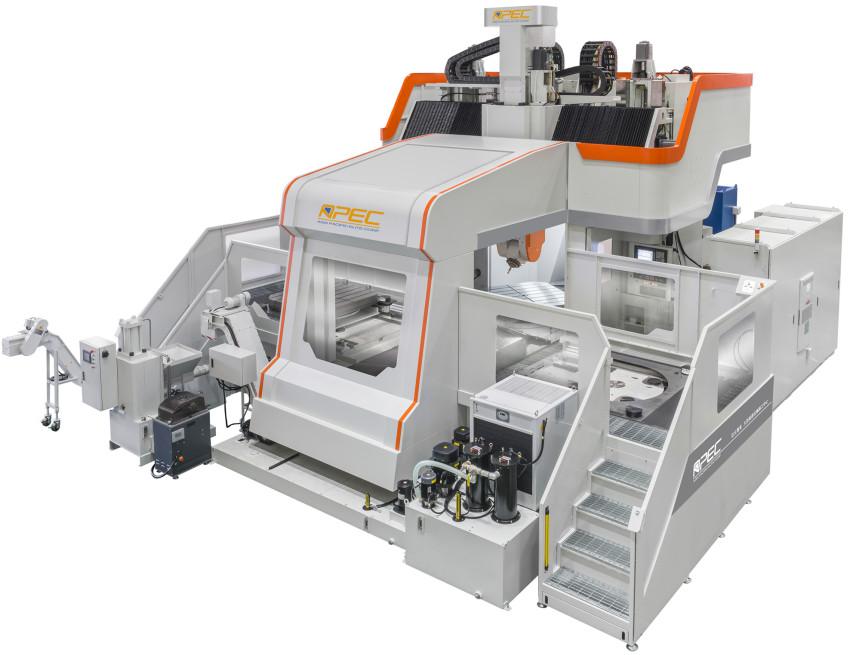 MDU系列 航太发动机机匣五轴加工中心